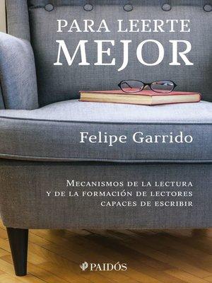cover image of Para leerte mejor