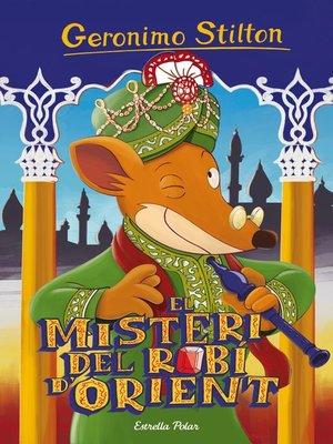 cover image of El misteri del robí d'Orient