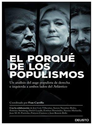 cover image of El porqué de los populismos
