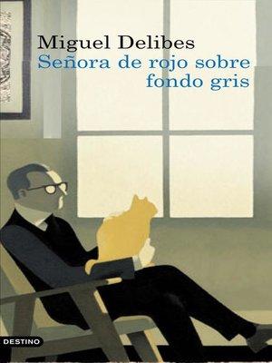 cover image of Señora de rojo sobre fondo gris