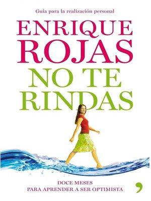 cover image of No te rindas