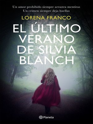 cover image of El último verano de Silvia Blanch