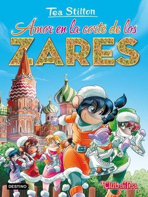 cover image of Amor en la corte de los zares