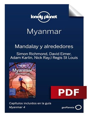 cover image of Myanmar 4. Mandalay y alrededores