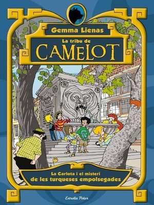 cover image of La Carlota i el misteri de les turqueses empolsegades