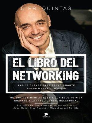 cover image of El libro del networking