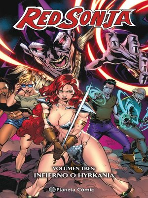 cover image of Red Sonja nº 03