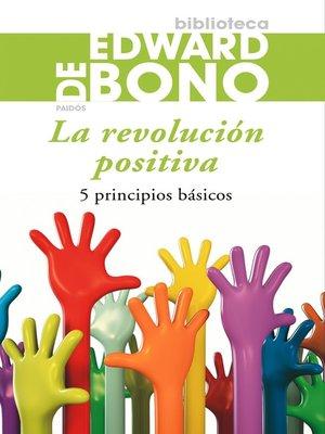 cover image of La revolución positiva
