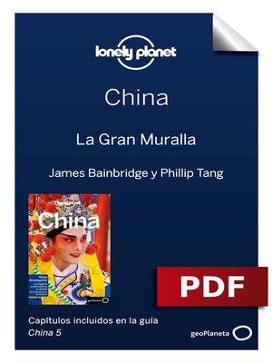 cover image of China 5. La Gran Muralla