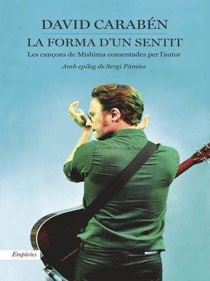 cover image of La forma d'un sentit