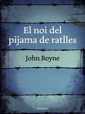 cover image of El noi del pijama de ratlles