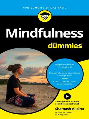 cover image of Mindfulness para Dummies