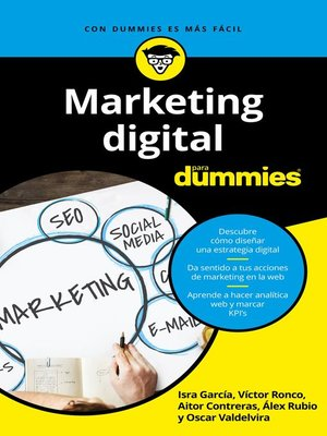 cover image of Marketing digital para Dummies