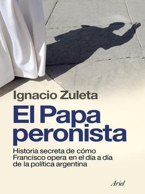 cover image of El papa peronista
