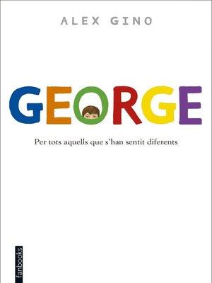 cover image of George (Edició en català)