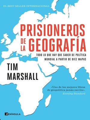 cover image of Prisioneros de la geografía