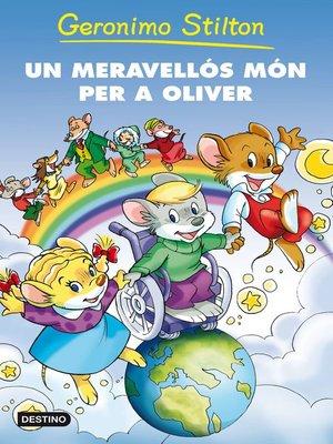 cover image of Un meravellós món per a Oliver