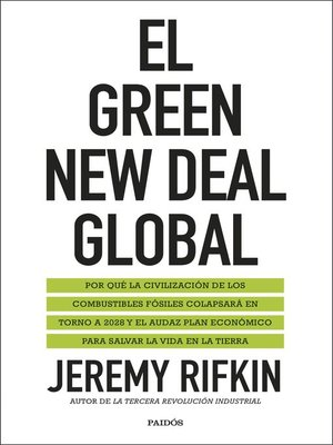 cover image of El Green New Deal global