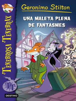 cover image of Una maleta plena de fantasmes