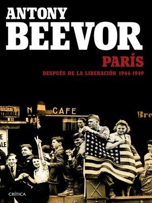 cover image of París después de la liberación