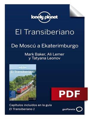cover image of Transiberiano 1_4. De Moscú a Ekaterimburgo