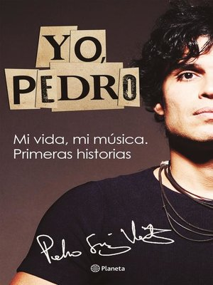 cover image of Yo pedro