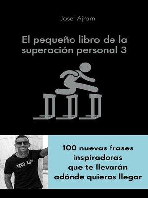 cover image of El pequeño libro de la superación personal 3