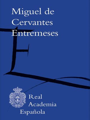 cover image of Entremeses (Adobe PDF)