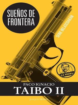 cover image of Sueños de frontera