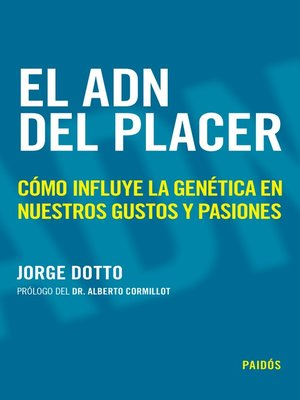 cover image of El ADN del placer