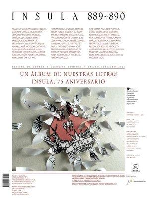 cover image of Un álbum de nuestras letras. Ínsula, 75 aniversario (Ínsula nº 889-890)