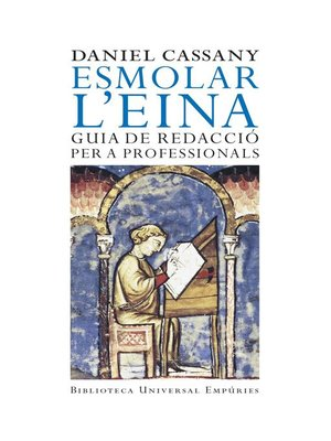 cover image of Esmolar l'eina
