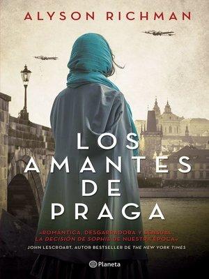 cover image of Los amantes de Praga