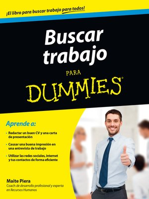 cover image of Buscar trabajo para Dummies