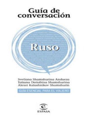 cover image of Guía de conversación ruso