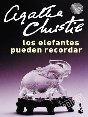 cover image of Los elefantes pueden recordar
