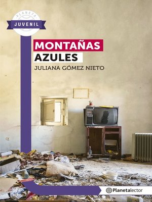 cover image of Montañas azules--Planeta Lector