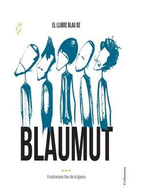 cover image of El llibre blau de Blaumut