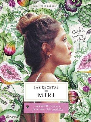cover image of Las recetas de Miri