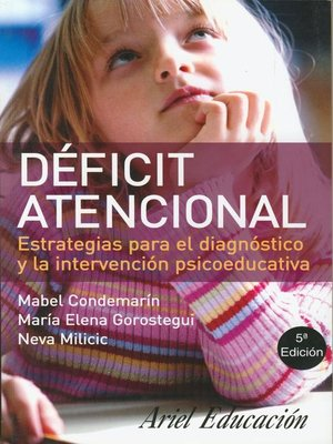 cover image of Déficit atencional