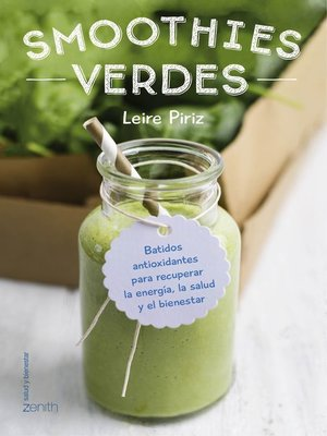 cover image of Smoothies verdes