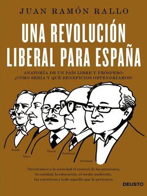cover image of Una revolución liberal para España