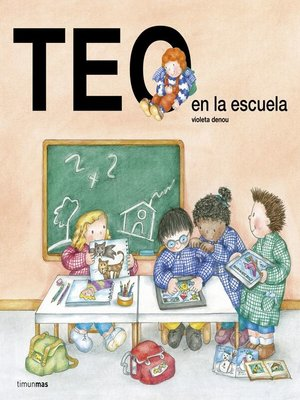 cover image of Teo en la escuela