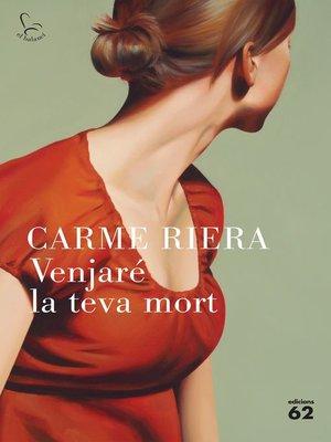 cover image of Venjaré la teva mort