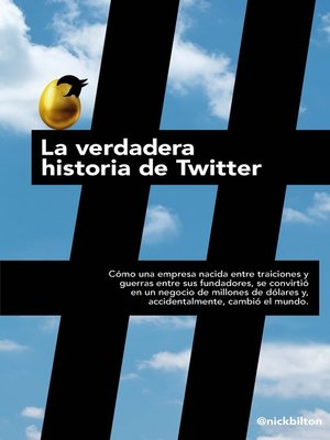 cover image of La verdadera historia de Twitter