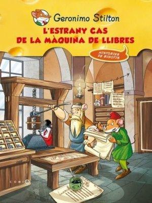 cover image of L'estrany cas de la màquina dels llibres