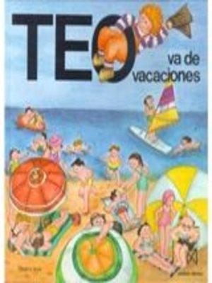 cover image of Teo va de vacaciones
