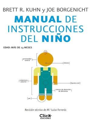 cover image of Manual de instrucciones del niño