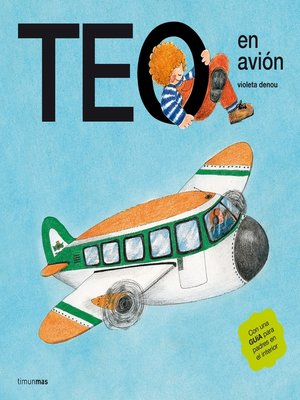 cover image of Teo en avión (Edición de 1977)