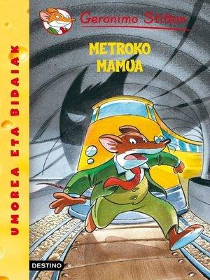 cover image of Metroko mamua